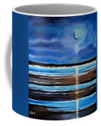 Midnight At The Beach Coffee Mug
