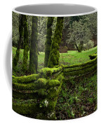 Mossy Fence 2 Coffee Mug by Bob Christopher