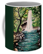 Mystical Waterfall Coffee Mug