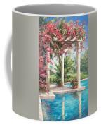 Poolside Garden Coffee Mug