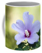 Purple Althea Coffee Mug by Kenneth Albin