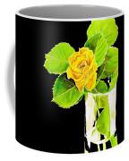 Rose In Vase Coffee Mug