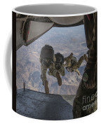 Sailors Jump Out Of A C2-a Greyhound Coffee Mug