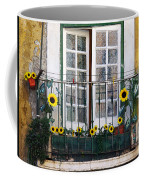 Sunflower Balcony Coffee Mug