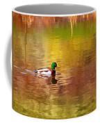 Swimming In Reflections Coffee Mug