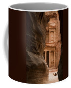 The Famous Treasury With A Camel Coffee Mug by Taylor S. Kennedy