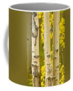Three Autumn Aspens Coffee Mug by James BO  Insogna