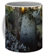 View Of The 8th Century Conical Tower Coffee Mug by James L. Stanfield