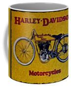 Vintage Harley Davidson Coffee Mug