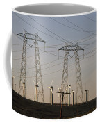 Windmills At A Electricity Producing Coffee Mug by Paul Chesley