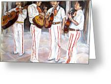 Mariachi  Musicians Greeting Card
