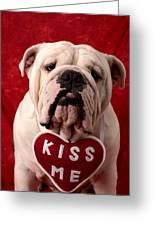 English Bulldog Greeting Card by Garry Gay