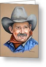 Happy Cowboy Greeting Card