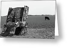 Route 66 - Cadillac Ranch Greeting Card