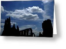 Abbey Skyline Greeting Card