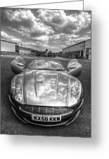 Aston Martin Dbs Greeting Card