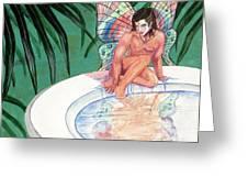 Bath Greeting Card