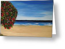 Beachside Greeting Card