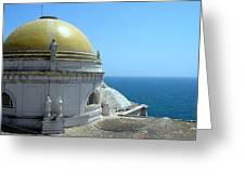Catedral De Cadiz I Greeting Card