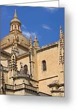 Catedral De Segovia Greeting Card