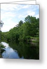 Clear River 1 Greeting Card