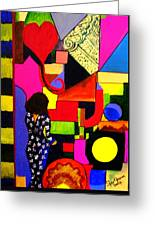 Eclectic Mix Greeting Card