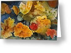 Fallen Greeting Card by Elizabeth Carr