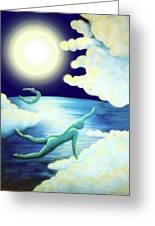 Flying Dream 2 Greeting Card by Barbara Stirrup