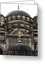 Four Domes Greeting Card