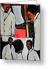 Friends Don Greeting Card by Tyrone Hart
