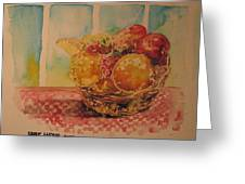 Fruitbasket Greeting Card