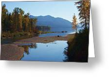 Glacier Park 11 Greeting Card