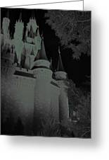 Haunted Castle Greeting Card