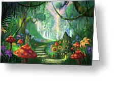 Hidden Treasure Version 2 Greeting Card by Philip Straub