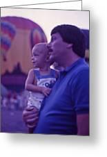 Hot Air Balloon - 6 Greeting Card