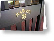 Jack Daniel's 3 Greeting Card