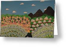 Jamaican Landscape Greeting Card