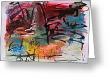 Landscape Sketch27 Greeting Card
