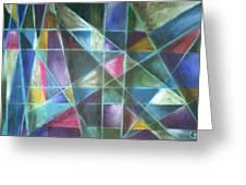Light Patterns 2 Greeting Card