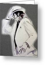 Michael Jackson - Smooth Criminal In Tii Greeting Card