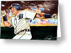 Miguel Cabrera  Greeting Card