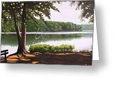 Morning At City Lake Park Greeting Card