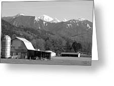 Mt. Baker Wine Country Greeting Card