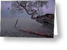 Mystic Lake Greeting Card