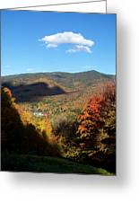 New Hampshire In The Fall 3 Greeting Card