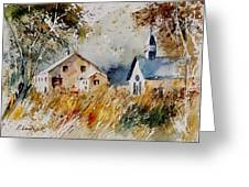 Old Chapel In Herhet Greeting Card