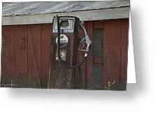 Old Farm Pump Greeting Card