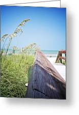 Path To Relaxation Vanilla Pop Greeting Card