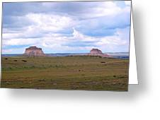 Pawnee Butte Colorado Greeting Card
