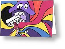 Pink Floyd 8 Track Trip Greeting Card by Jera Sky